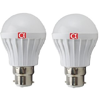 Alpha 5 watt pack of 2 with one year replacement warranty