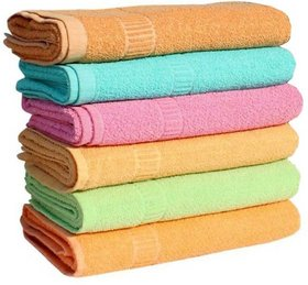 Angel homes 200 GSM pack of 8 cotton hand towel