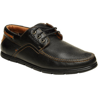 Buckaroo Men's Black Formal Shoe
