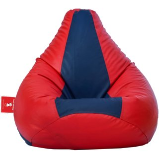 Comfy Bean Bag RED INDIGO L SIZE Without Fillers - Cover Only