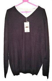 men's sweater in v-neck