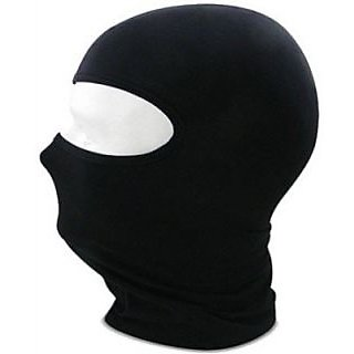 Full Face Nylon Face Mask (Black)