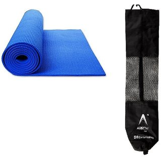 Buy Arrowmax Yoga Mat  Meditation Mat 8mm anti skid with Yoga Mat ... 4df252f74