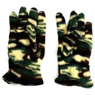 Tahiro Multicolour Printed Woollen Gloves - Pack Of 1