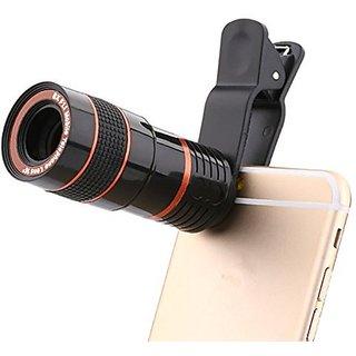 Others Tvisha 8X Zoom Lens Mobile Phone Telescope F18 mm 16 Degree Colour Black