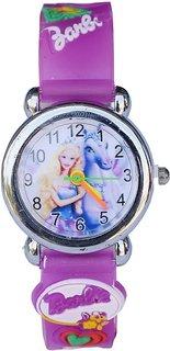 TRUE CHOICE NEW Barbie Watch Purple Md
