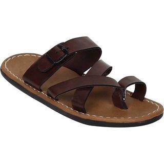 Butchi Men Brown Slippers