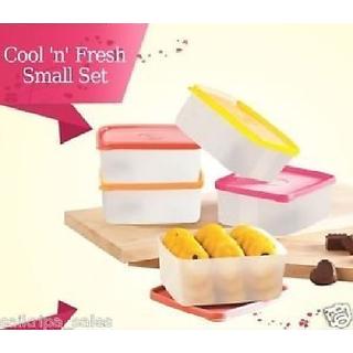 Tupperware Cool N Fresh Smart Lunch set of 5