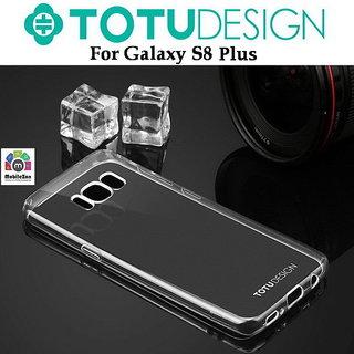 buy online 1de96 bcbd8 Samsung Galaxy S8 Plus Back Cover Ultra Thin Slim Case Transparent