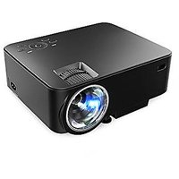 T20 Projector,Home Theater Video Projector 1080P 1500 L