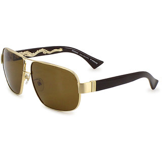 1fec5ddc2a Buy D ARMATE Retro Square Sunglasses (Brown) Online - Get 50% Off