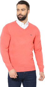 Red Tape Men Coral Sweaters