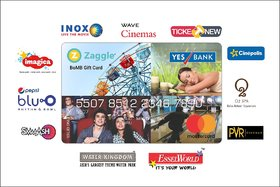 Zaggle Wave Cinemas BoMB  Card - 1000