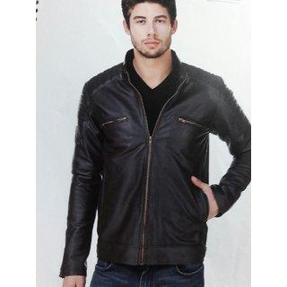Demind pu leather jacket
