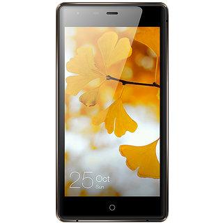 Zen Admire Snap Dual SIM 5 Inch Marshmallow 2GB  16GB  Dual WhatsApp 4G Smartphone (Coffee Black)