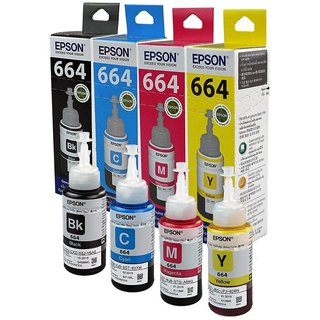 Epson Ink Bottles- Set of 4