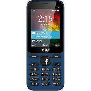Trio T6 Star Blue-Black (Dual Inch, 2.4 Inch Display, 1000 Mah Battery, Multimedia Phone)