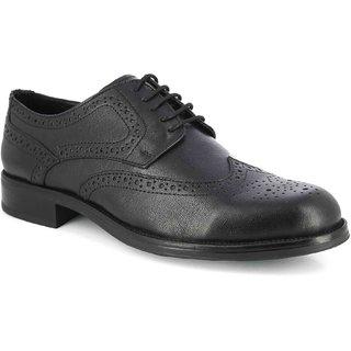 Alberto Torresi Black Formal Shoes