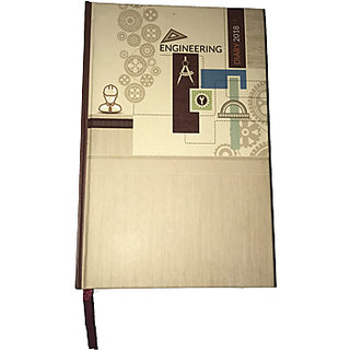 Ezzi deals A5 size engineering diary 2018 , A5 memo book , engineering diary .
