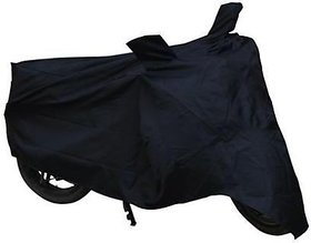 Motoway Yamaha FZ-S Two Wheeler Cover (Black)