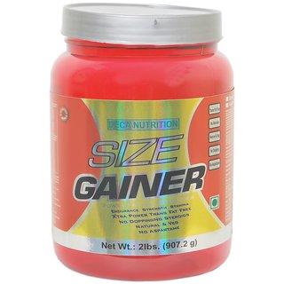 Deca Nutrition Size Gainer Protein Supplement Powder 2 Lbs