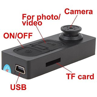 Mini Spy HD Button Dv Camera Camcorder Recorder