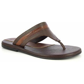 Alberto Torresi Berdomo Brown Slippers