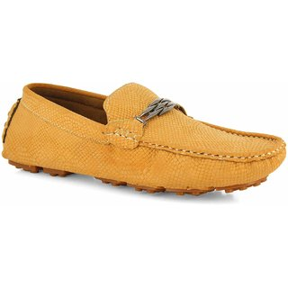 Alberto Torresi  Men's Tan Casual Shoes