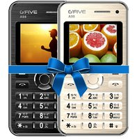 Combo Of Gfive A98 (Black)+ Gfive A98 (Gold) Card Phone