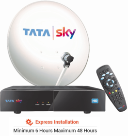 Tata Sky HD Set Top Box with 1 Month South Special Pack