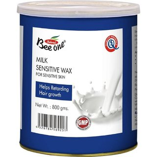 GoodsBazaar Beeone Milk Sensetive Wax (800 Grams)