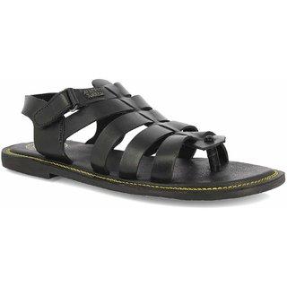 Alberto Torresi  Men's Black Sandal