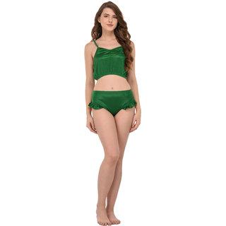 You Forever Green Lingerie Set