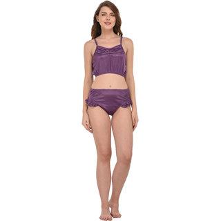 You Forever Purple Lingerie Set