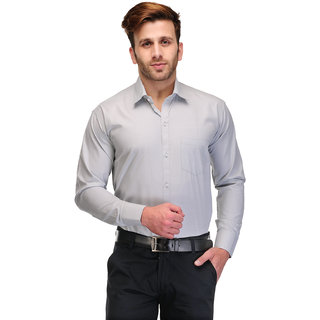 929bdb5da3e 56%off Koolpals Mens Green Solid Regular Fit Formal Shirt