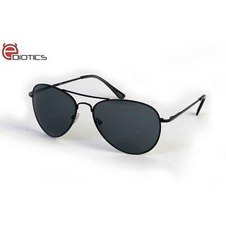 af3ea3ecb16 Buy Ediotics Classic Black Aviator Style Designer Sunglasses for Men Online  - Get 70% Off