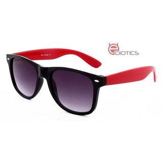 a195f8ec86e Ediotics Classic Red with Black Wayfarer Style Designer Sunglasses for Men