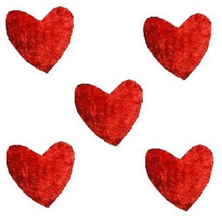 Red Heart Cushion - Pack Of 5