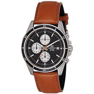 Casio Chronograph Black Dial Mens Watch-Efr-526L-1Bvudf