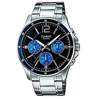 Casio Enticer MTP-1374D-2AVDF (A950) Analog Black Dial Men's Watch