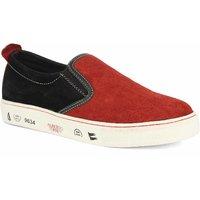 Alberto Torresi Men's Red,Black Loafers