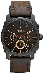 Fossil Analogue Black Dial Mens And Boys Watch-Fs4656