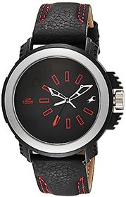 Fastrack Black Dial Analogue Watch For Men (38015Pl02J)