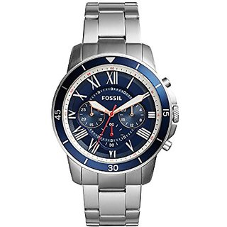 Fossil Grant Sport Chronograph Blue Dial Mens Watch -Fs5238