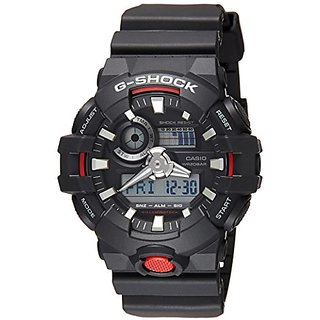 Casio G-Shock GA-700-1ADR (G714) Analog-Digital Black Dial Men's Watch (GA-700-1ADR (G714))