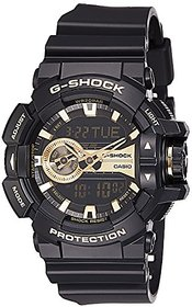 G-Shock Analog-Digital Gold Dial Mens Watch - Ga-400Gb-