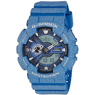 Casio G-Shock GA-110DC-2ADR (G637) Analog Digital Blue Dial Men's Watch