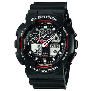 G-Shock Analog-Digital Black Dial Mens Watch - Ga-100-1A4Dr