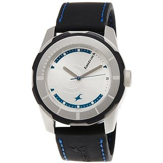 Fastrack Economy 2013 Analog White Dial Mens Watch - 3099Sp02