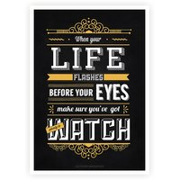 Life Inspirational And Motivational Quotes Poster